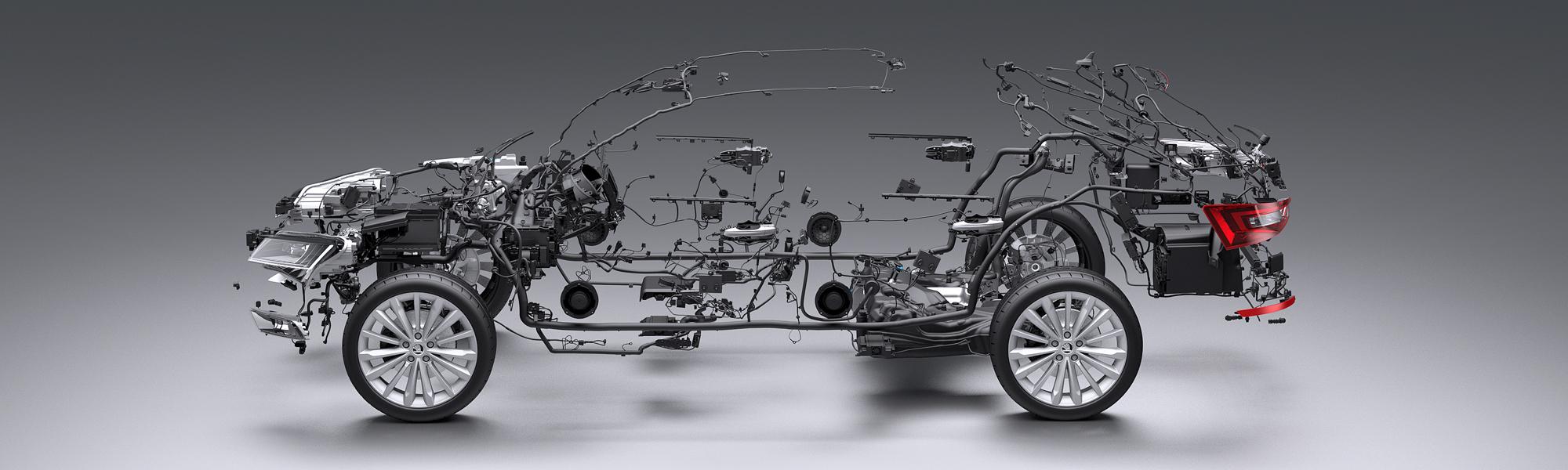 Bez přesných modelů se výroba aut neobejde