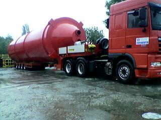 Kamiony jezdí do Ruska i střední Asie