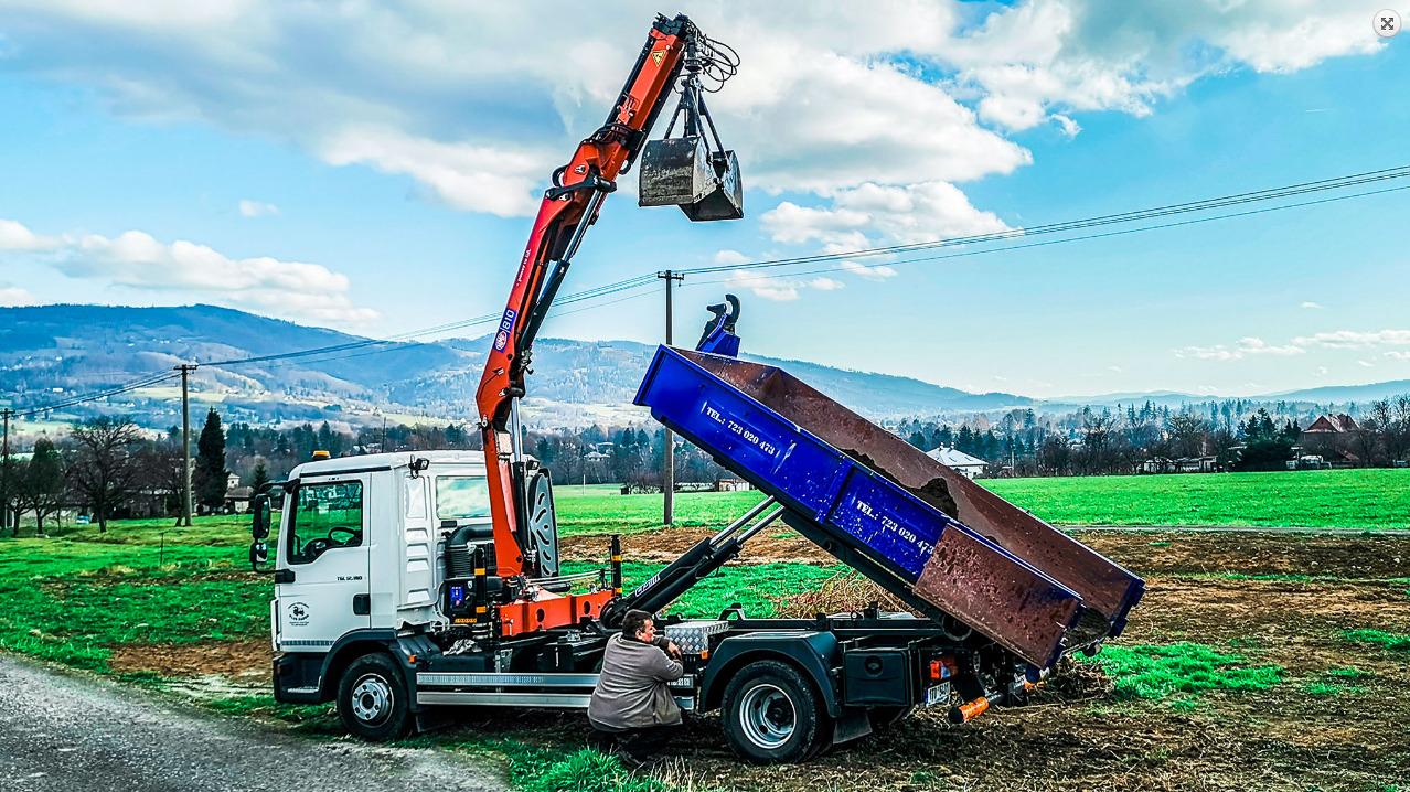 Likvidace pozůstalostí i doprava stavebního materiálu